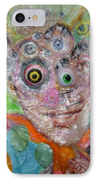 Fried Face IPhone Case by Douglas Fromm