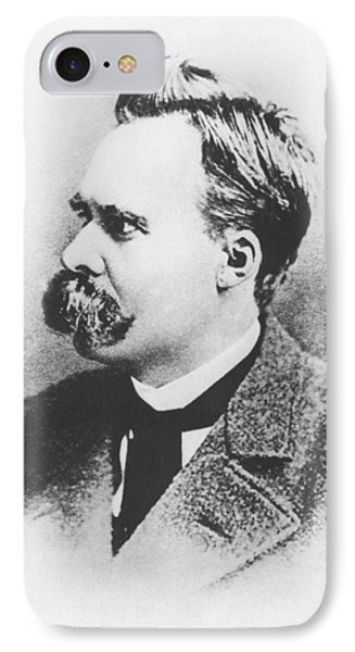 Friedrich Wilhelm Nietzsche In 1883 IPhone Case by German Photographer