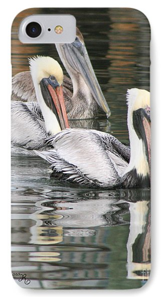 Friendly Stroll IPhone Case by Mariarosa Rockefeller