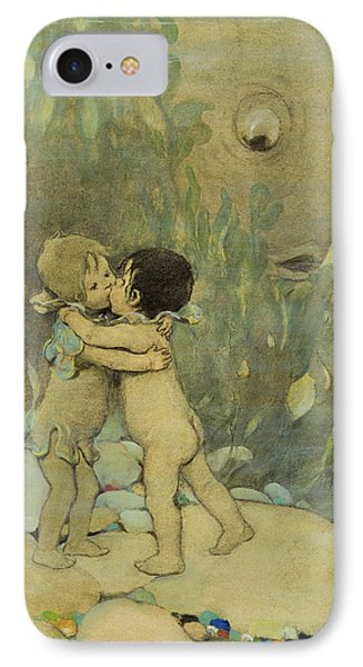 Friends Circa 1916 IPhone Case by Aged Pixel