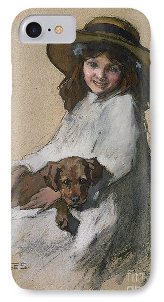 Friends Phone Case by Elizabeth Adela Stanhope Forbes