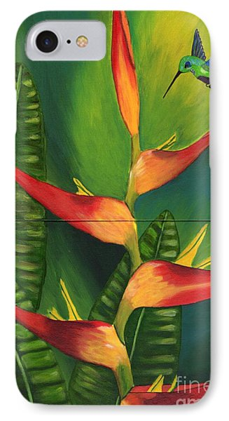 IPhone Case featuring the painting Friendship by Laura Forde
