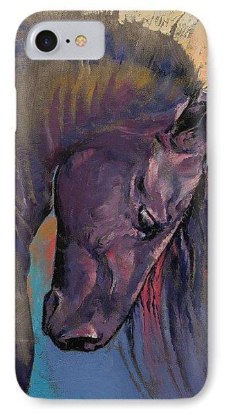 Friesian Horse IPhone Case
