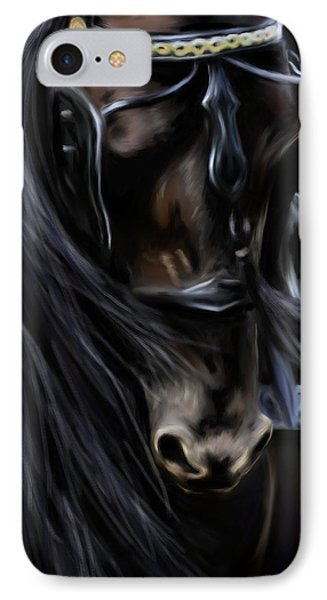 Friesian Spirit Phone Case by Michelle Wrighton