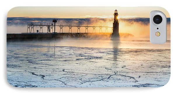 Frigid Sunrise Fog  IPhone Case