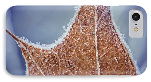 Fringe Of Crystal IPhone Case by Julie Clements