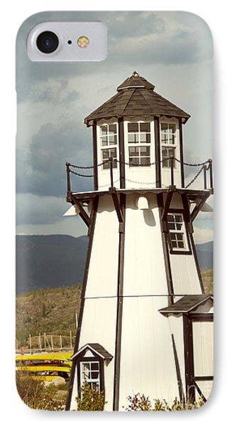 Frisco Bay Marina Lighthouse Phone Case by Juli Scalzi