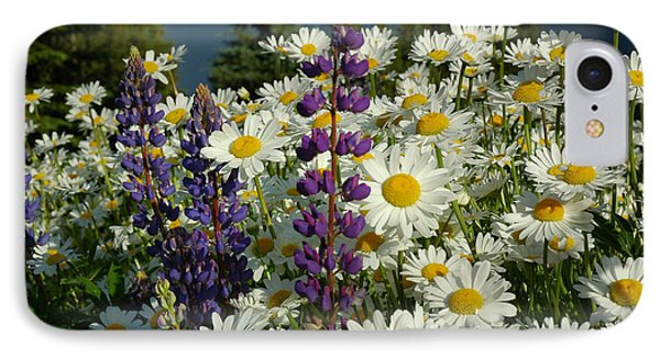 IPhone Case featuring the photograph Frisco Flowers by Lynn Bauer