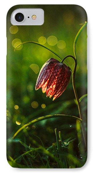 Fritillaria Meleagris IPhone Case