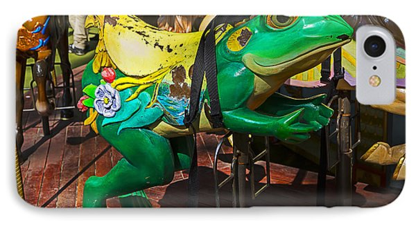 Frog Carrousel Ride Phone Case by Garry Gay