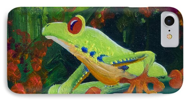Frog Heaven Phone Case by Tracy L Teeter