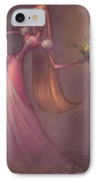 Frog Prince IPhone Case by Adam Ford
