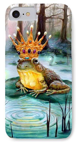 Frog Prince Phone Case by Heather Calderon
