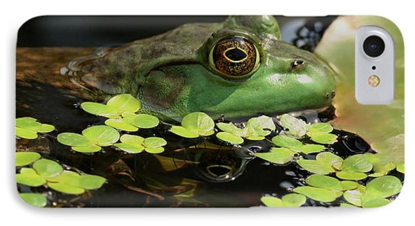 Frog Reflection Phone Case by Barbara S Nickerson