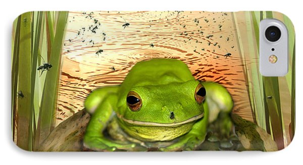 Froggy Heaven IPhone Case