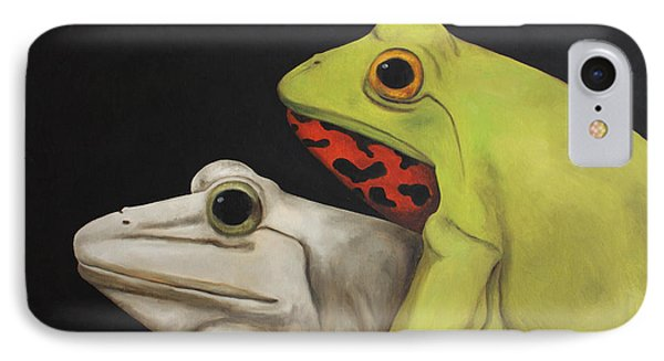 Froggy Style IPhone Case by Leah Saulnier The Painting Maniac