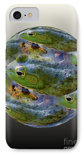 Frogs Eye View 3 IPhone Case