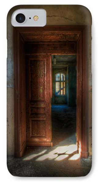 From A Door To A Window Phone Case by Nathan Wright