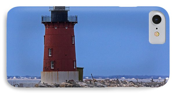 IPhone Case featuring the photograph From Henlopen Point 1 by Robert Pilkington
