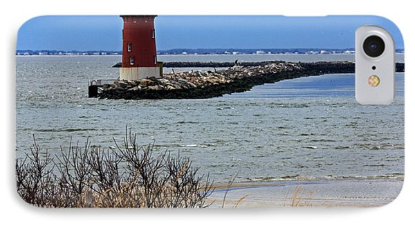 IPhone Case featuring the photograph From Henlopen Point 2 by Robert Pilkington