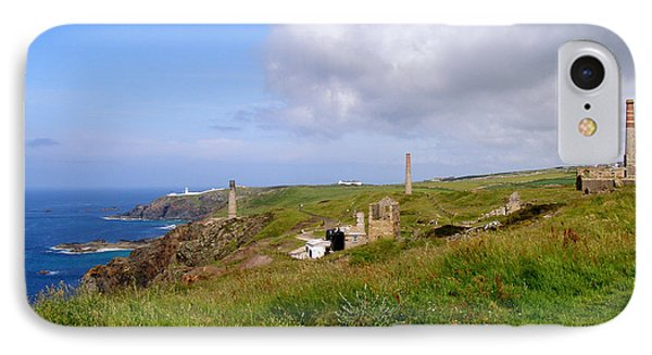 From Levant To Pendeen Cornwall Phone Case by Terri Waters