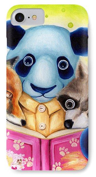 From Okin The Panda Illustration 10 Phone Case by Hiroko Sakai