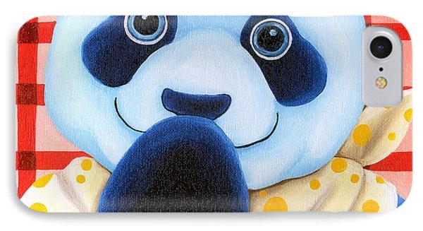 From Okin The Panda Illustration 11 Phone Case by Hiroko Sakai