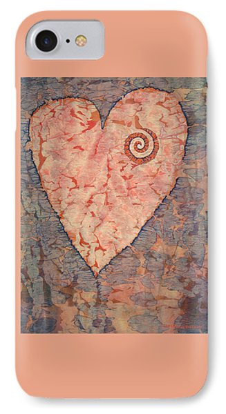 From The Heart IPhone Case by Lynda Hoffman-Snodgrass