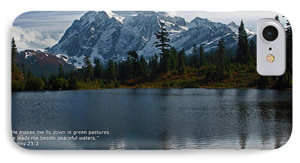 From The Hills IPhone Case by Rod Wiens