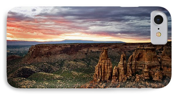 From The Overlook - Colorado National Monument IPhone Case