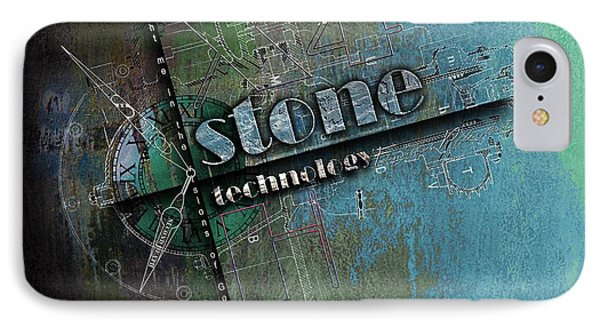 from the Stone Age to now IPhone Case by Franziskus Pfleghart