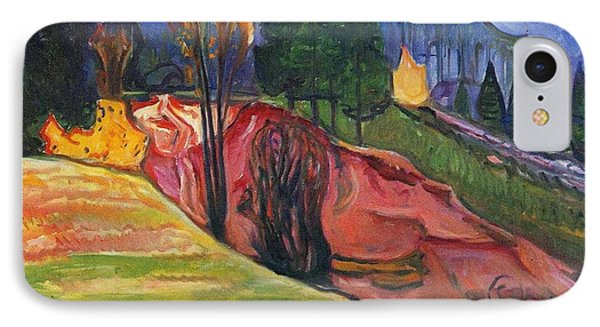 From Thuringewald IPhone Case by Edvard Munch