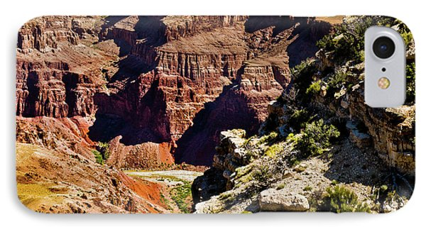 From Yaki Point 1 Grand Canyon IPhone Case by Bob and Nadine Johnston