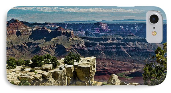 IPhone Case featuring the photograph From Yaki Point 2 Grand Canyon by Bob and Nadine Johnston