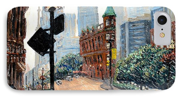 Front And Church Phone Case by Ian  MacDonald