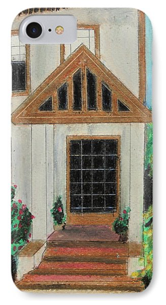 IPhone Case featuring the painting Front Door 1 by Jeanne Fischer