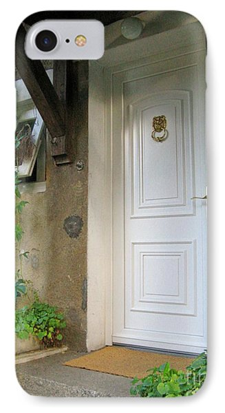 IPhone Case featuring the photograph Front Door by Arlene Carmel