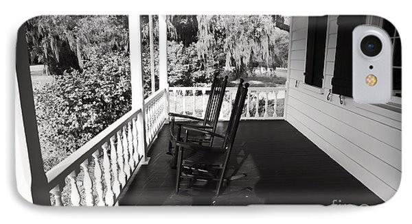 Front Porch Chairs Phone Case by John Rizzuto