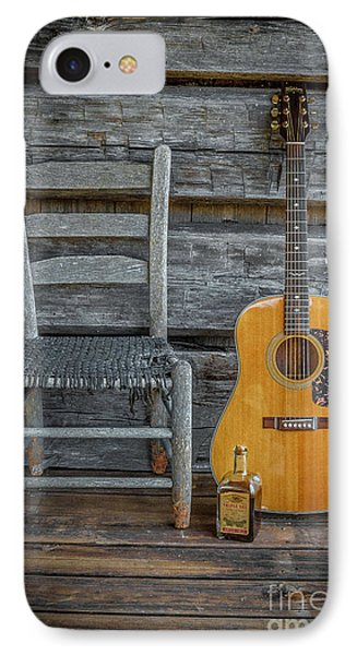 Front Porch Pick'n IPhone Case by Marion Johnson