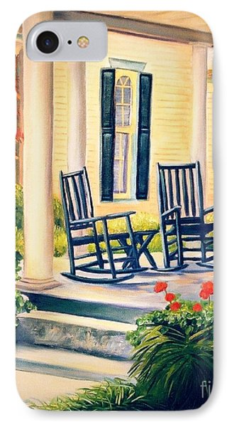 Front Porch IPhone Case by Shelia Kempf