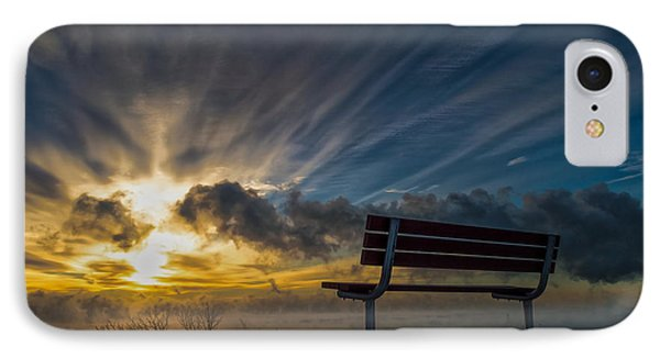 Front Row IPhone Case by James  Meyer