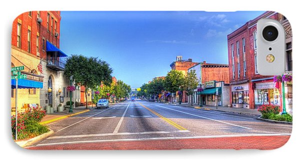 Front Street Marietta IPhone Case by Jonny D