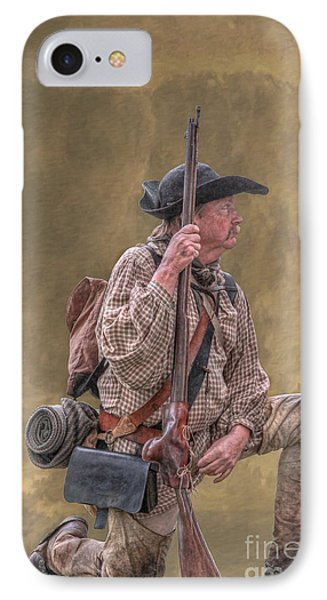 Frontiersman Golden Morning IPhone Case