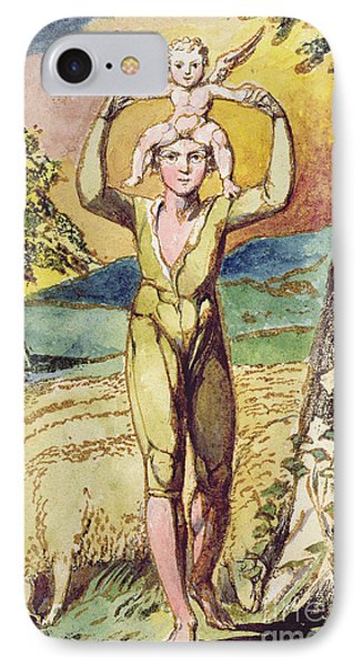 Frontispiece From Songs Of Innocence IPhone Case