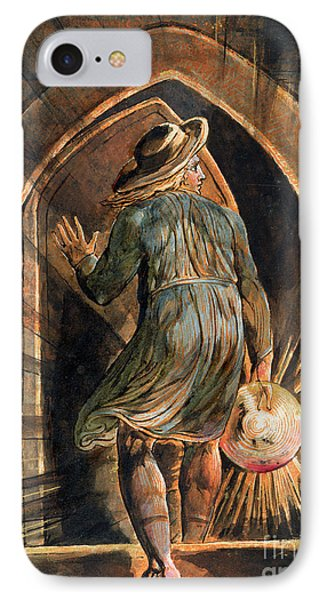 Frontispiece To Jerusalem Phone Case by William Blake