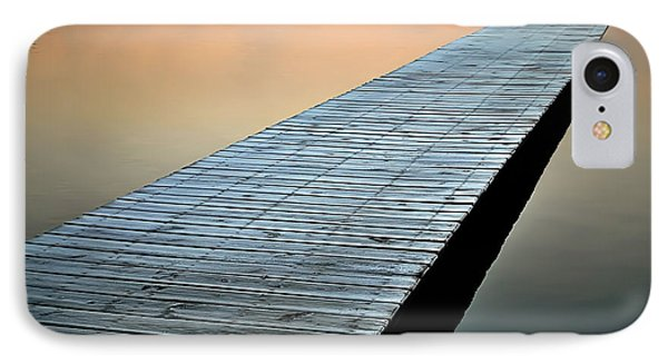 Frost On The Dock IPhone Case by Greg Jackson