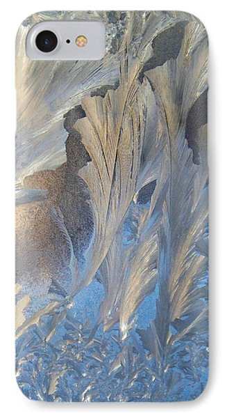 Frost On The Window Pane Phone Case by Joy Nichols
