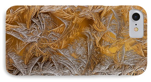 Frosted Filigree IPhone Case by Lois Bryan