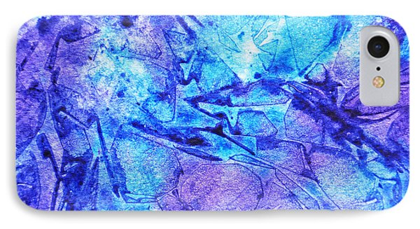 Frosted Window Abstract II  IPhone Case