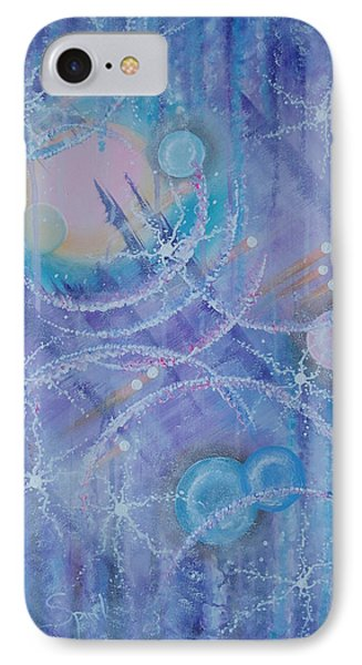 Frosticles Phone Case by Krystyna Spink